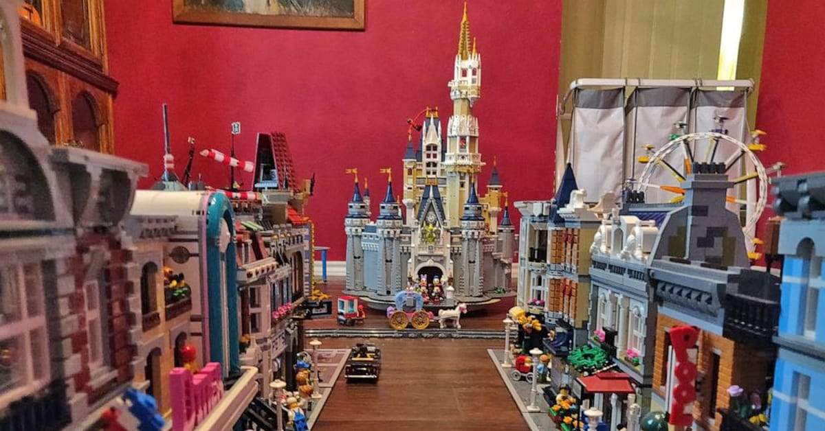 Man creates epic miniature Disneyland out of LEGOs during quarantine, see the pics here - my positive outlooks
