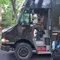 Watch residents surprised a beloved UPS driver and thanked him for his service