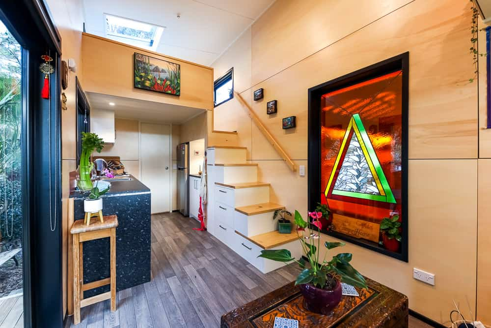Solo mom builds beautiful tiny home to gain financial freedom