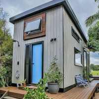 Couple incorporates Japanese and Scandinavian influence in building their Zen tiny home
