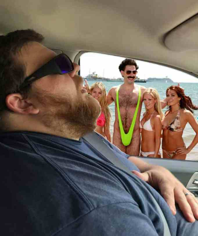 Nate Overman's funny photoshopped picture