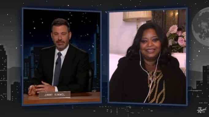 Octavia Spencer on Jimmy Kimmel Live