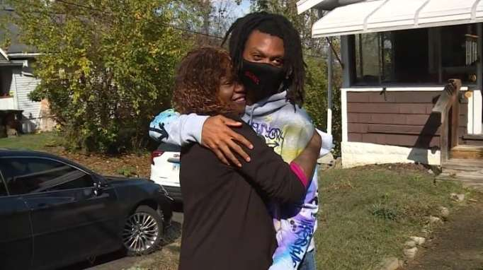 Teo Jordan and his mom Stephanie Burton Stephanie