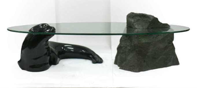 The Seal and Rock Table by David Pearce