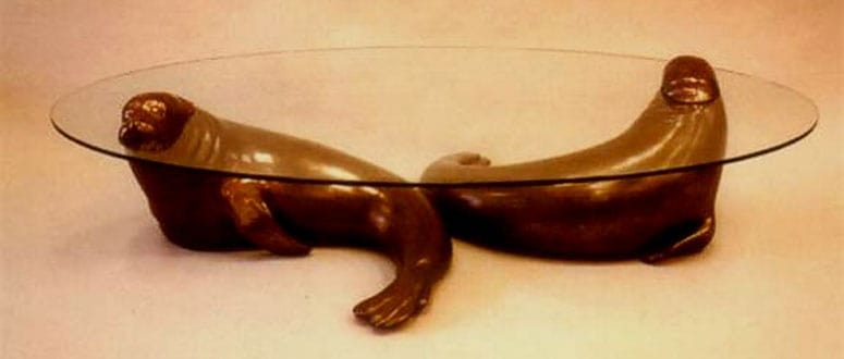 Seals Table by David Pearce