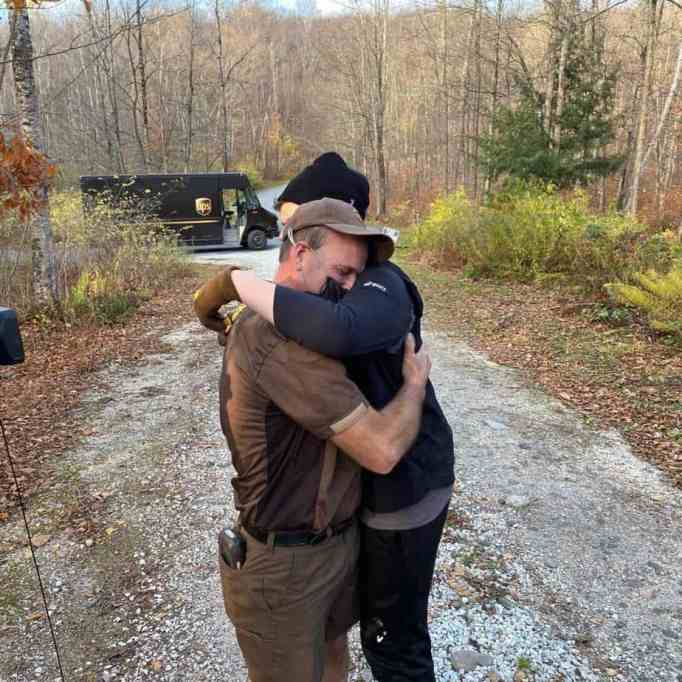 UPS driver surprises teen in his route with special delivery to make him smile