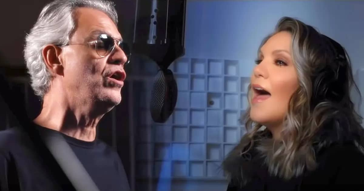 Andrea Bocelli and Allison Krauss duet of 'Amazing Grace' is simply beautiful - my positive outlooks