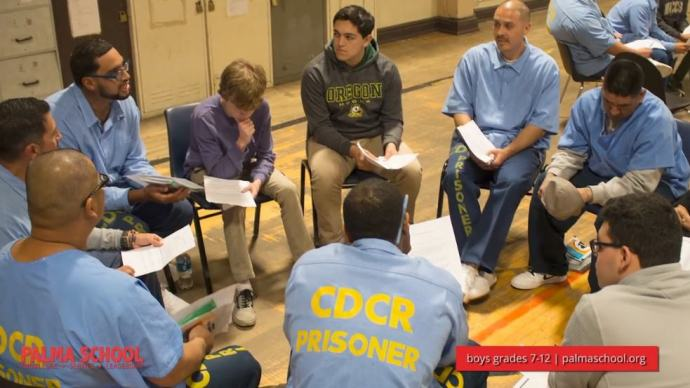 Palma School and Soledad State Prison reading program