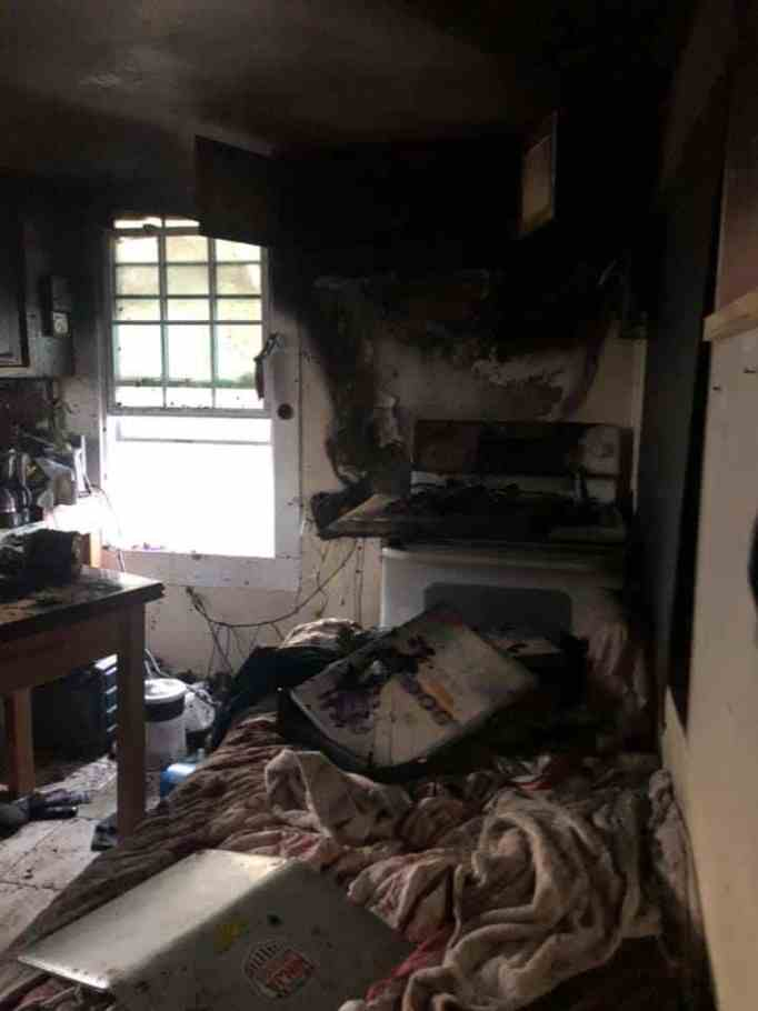 The kitchen where the fire at W-Underdogs started