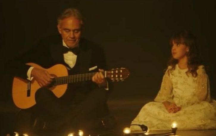 Andrea Bocelli and Virginia Bocelli singing Hallelujah at Teatro Regio di Parma