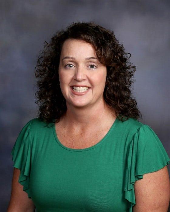 Fancy Farm Elementary School principal Janet Throgmorton