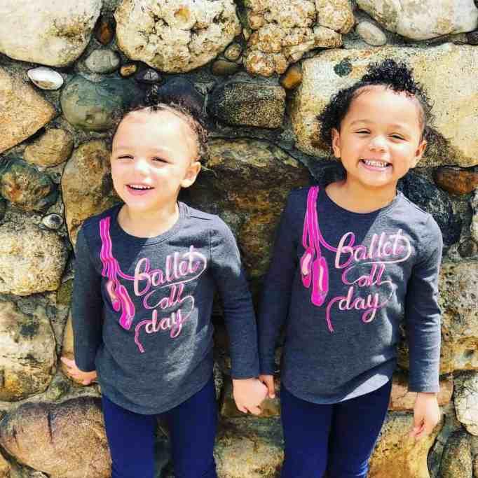 Biracial twins Kalani and Jarani Dean