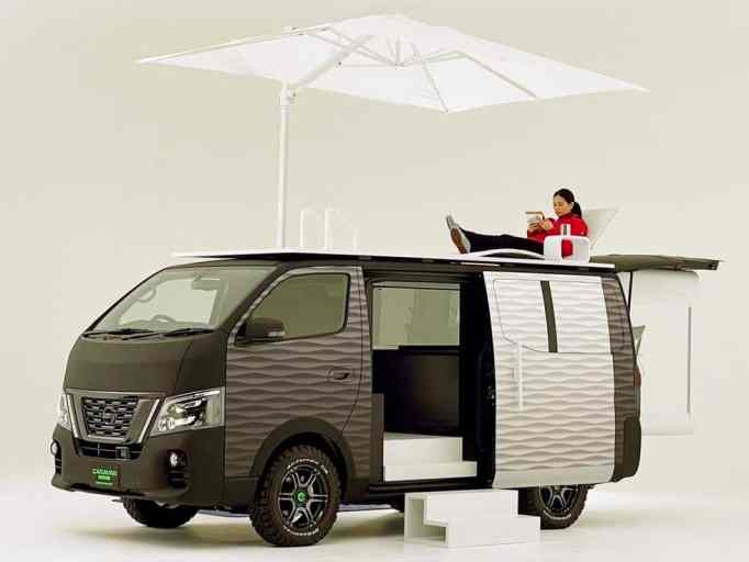Nissan's NV350 Office Pod