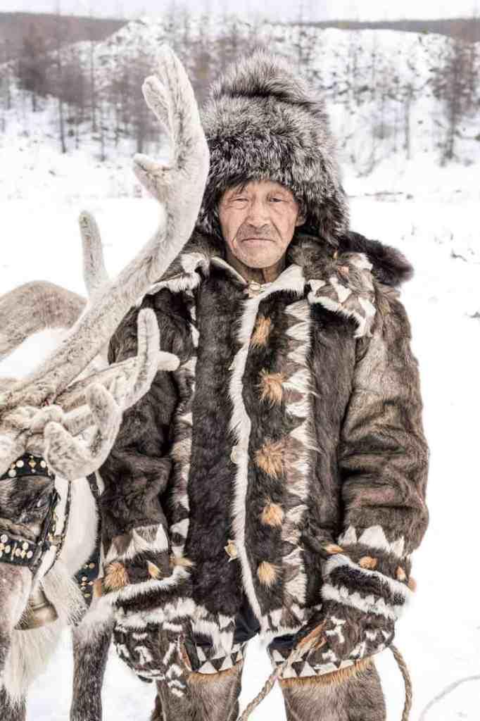 Evenki Reindeer Herder