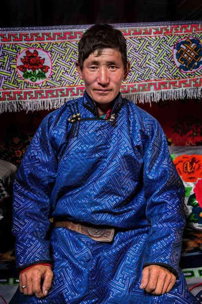 uvan Mongolian Man