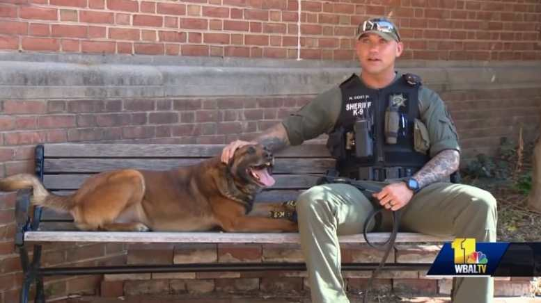 Officer Costin and Jango 2