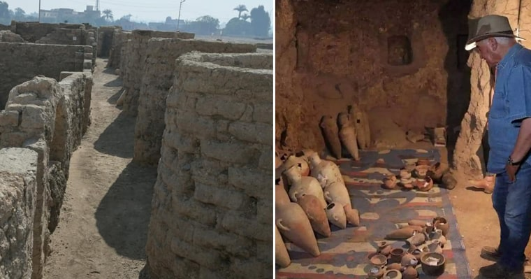 A team of archaeologists has found the largest ancient city ever discovered in Egypt - my positive outlooks