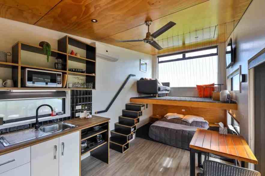 Inside a tiny home