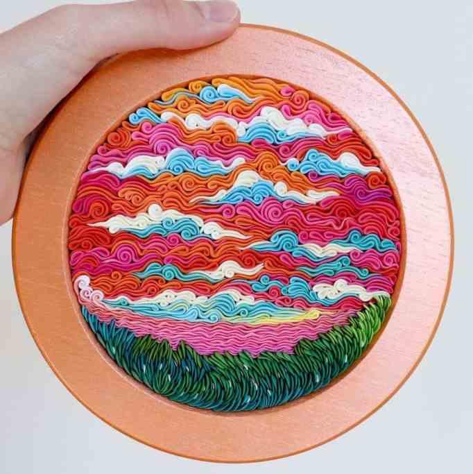 Alisa Lariushkina's polymer clay art