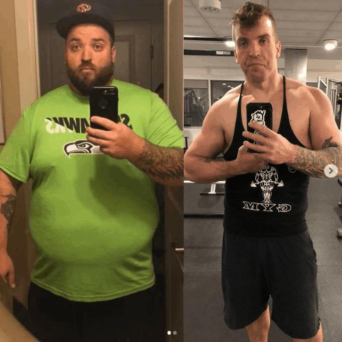 Познакомьтесь с Митчем Фулманом, человеком, который похудел более чем на 200 фунтов и победил диабет.