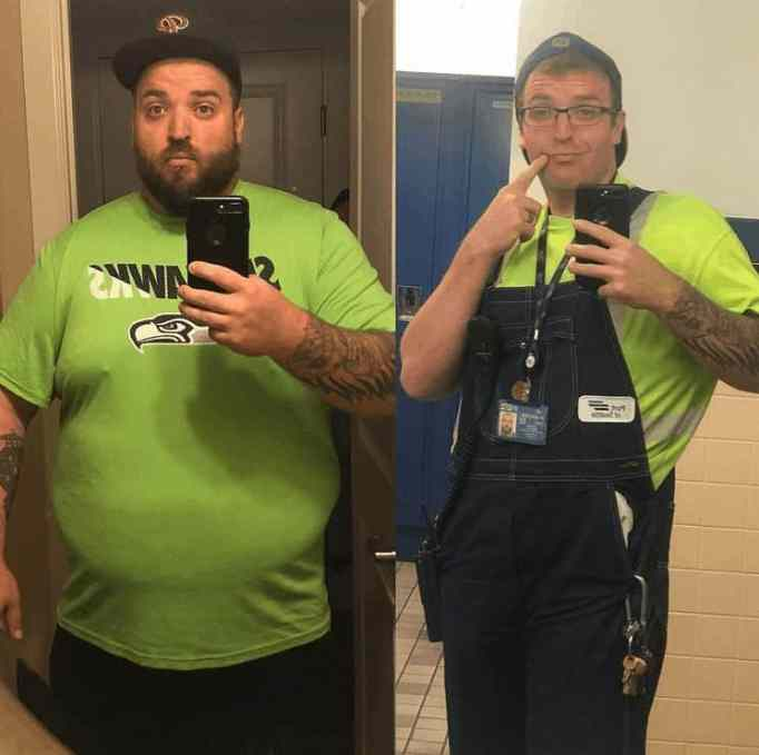 Mitch Fuhlman's incredible before-and-after weight loss transformation