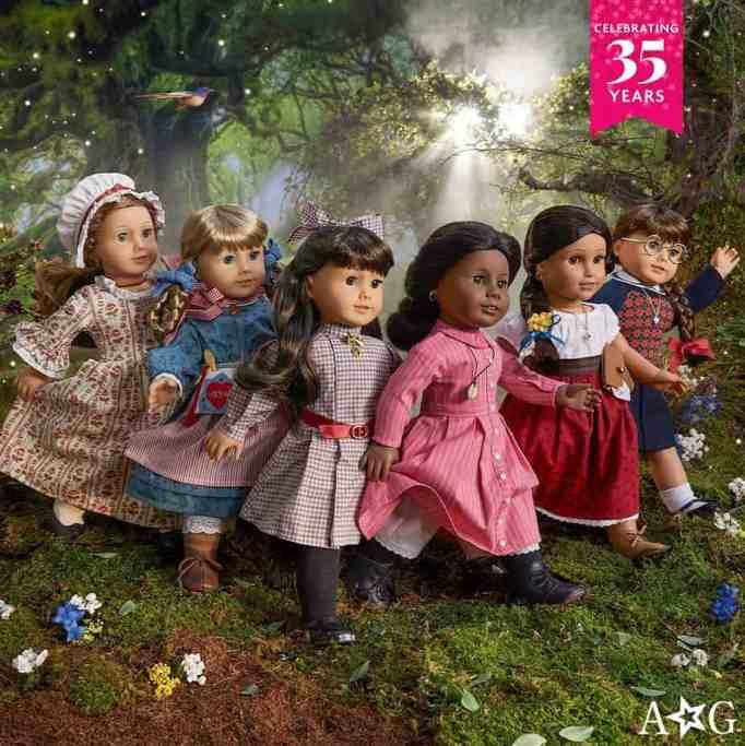 American Girl's original dolls
