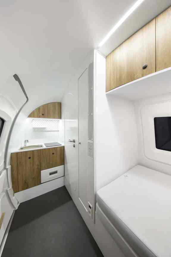 Inside of an Ecocapsule