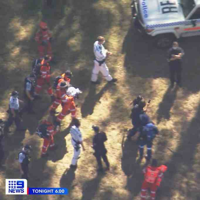 Rescue team in search of AJ Elfalak