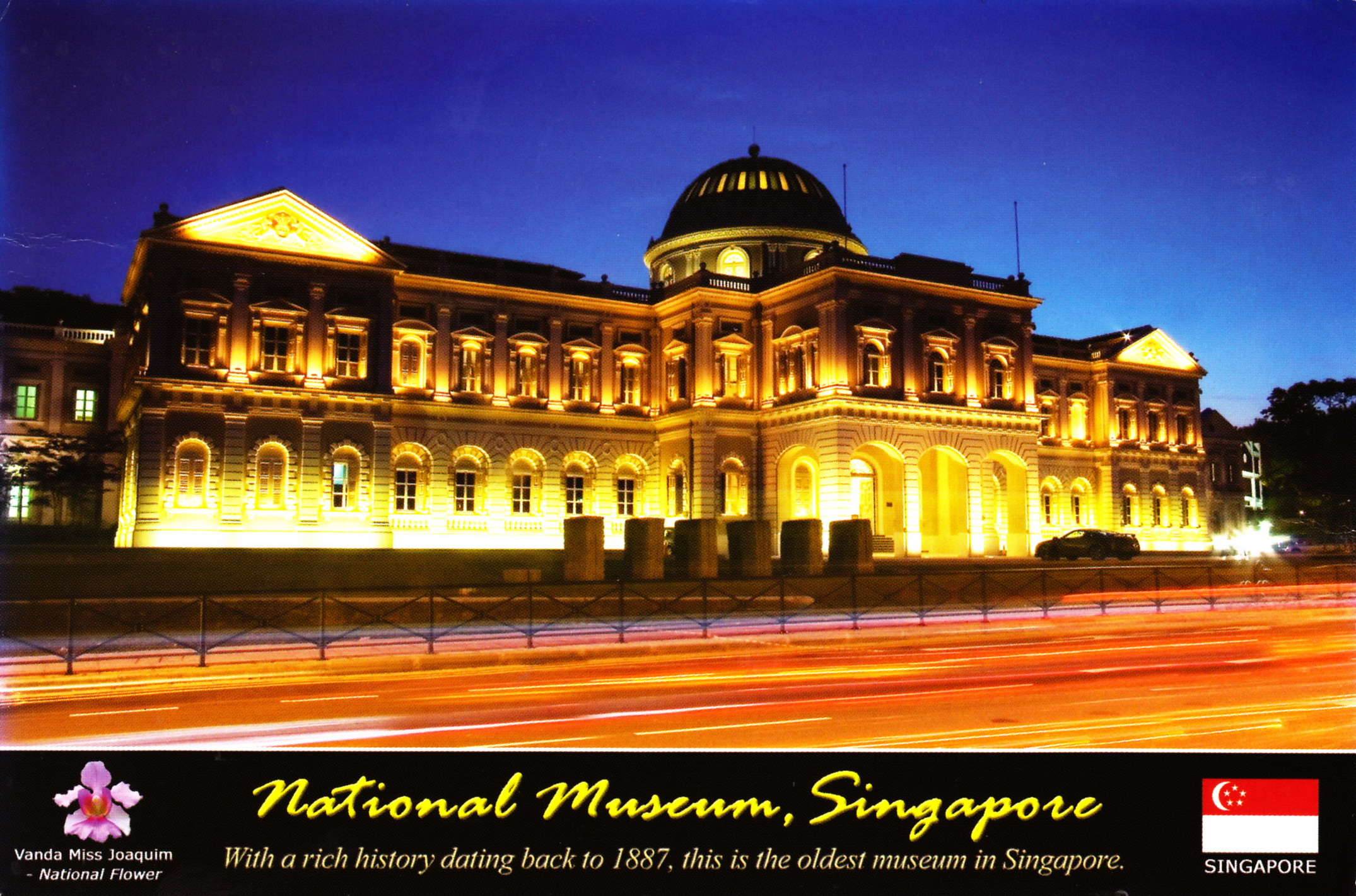 National Museum of Singapore - My collection of Postcards ... on National Museum Of Singapore  id=41325