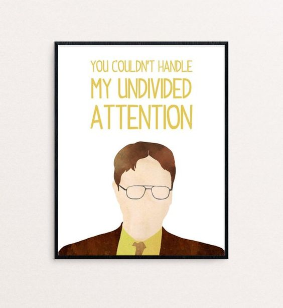 dwight schrute the messiah poster 13 x