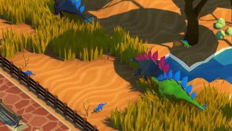 Cute Dinosaurs in Games