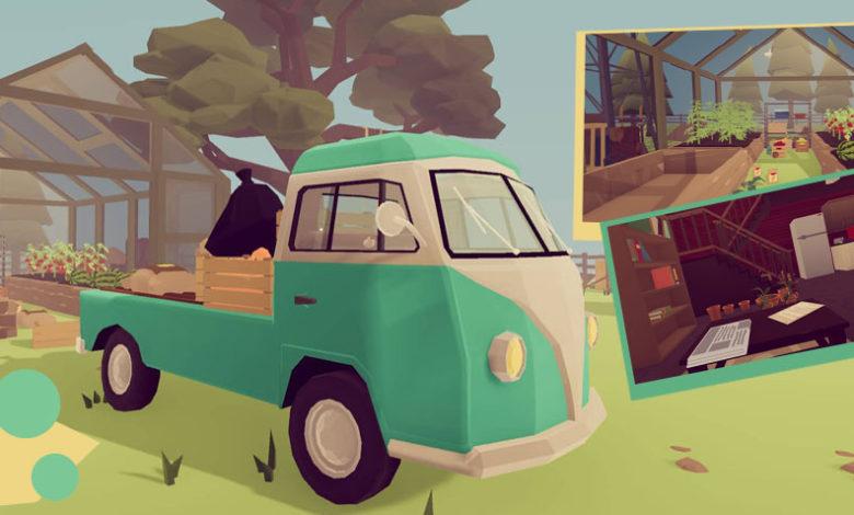 Lonefarm indie game