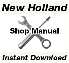 New Holland Factory OEM Manual PDF Download