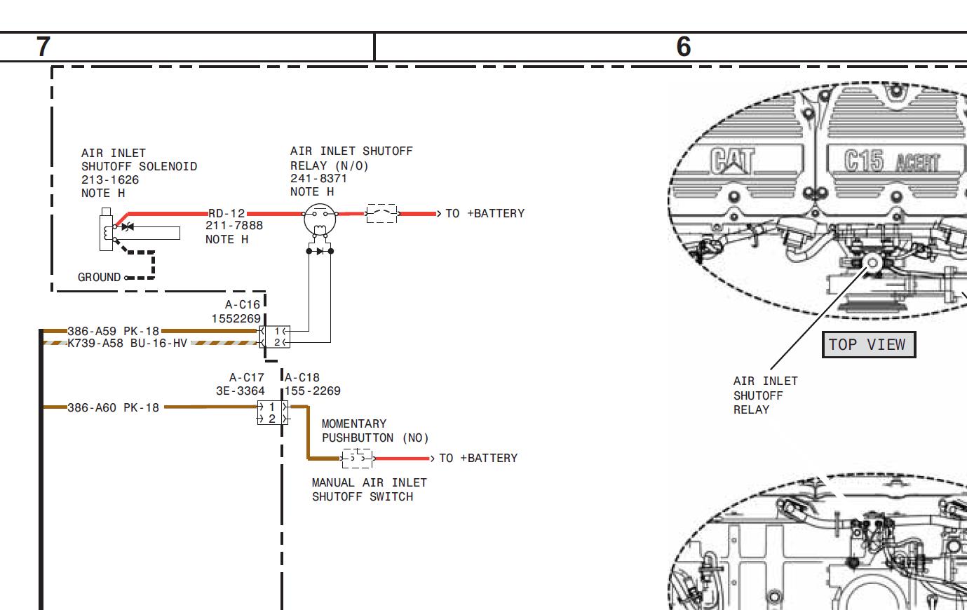 Wunderbar Caterpillar C15 Schaltplan Ideen - Die Besten Elektrischen ...