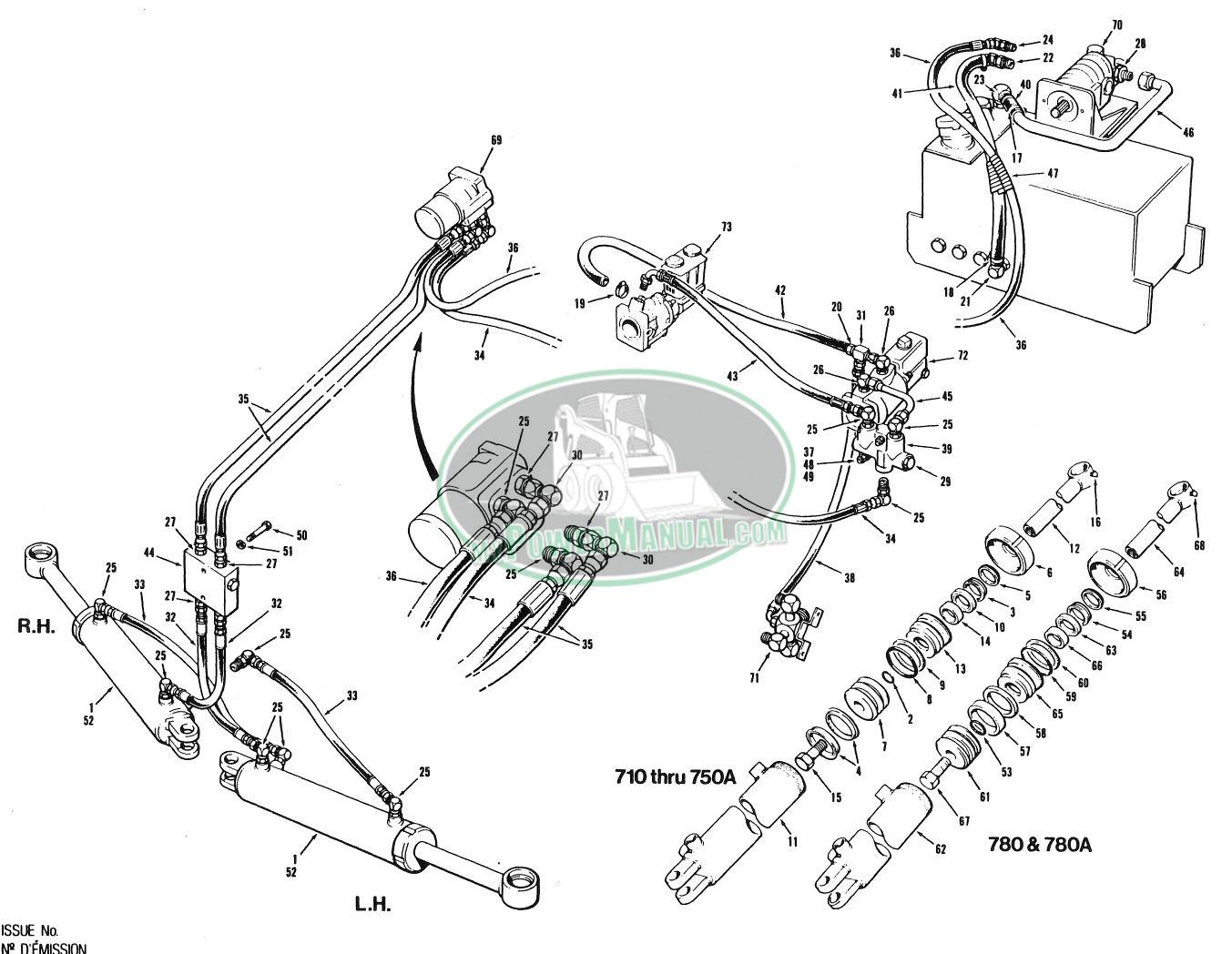 champion 700 motor grader parts manual