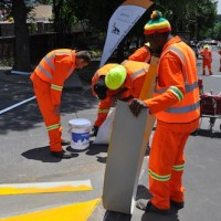 Plascon boosts traffic safety with road-marking paint
