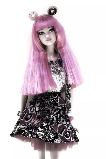 nylon doll hair