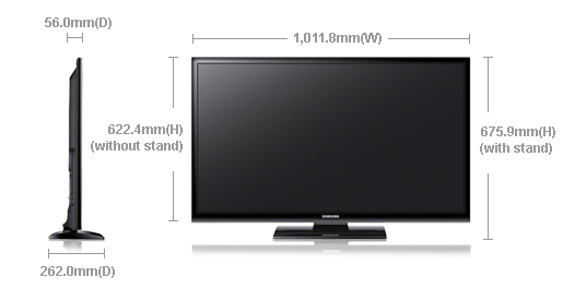 """Samsung 43E400 43"""" Inches Plasma LCD TV Price in Pakistan Specs Features Pictures"""