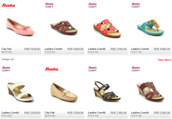 BATA Shoes Collection 2015 For Womens/Ladies/Girls With Price in Pakistan