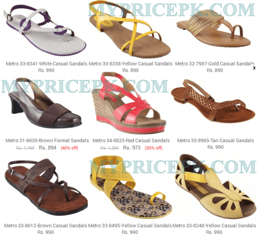 Metro Shoes For Ladies Womens Girls Collections 2021 With Price in Pakistan