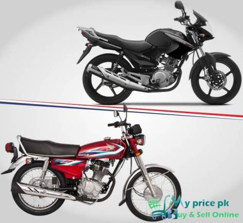 Comparison Between Honda CG 125 Model 2015 & Yamaha YBR 125 Model 2015