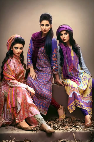 Chenone Ladies Winter Dresses Collection Price in Pakistan