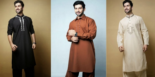 Gul Ahmed Gents Shalwar Kameez For Winter 2016 Price In Pakistan Designs Colors Reviews