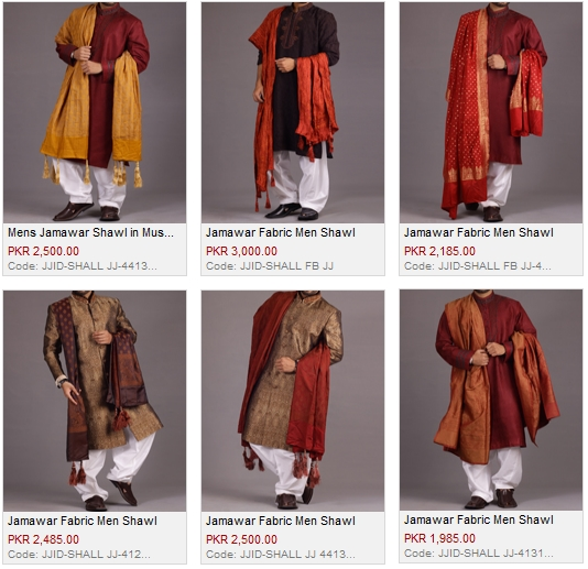 Junaid Jamshed J. Mens Shawl For Winter 2016 Price In Pakistan Latest Colors Designs