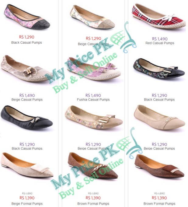 Stylo Shoes Ladies New Arrival For Winter 2016 Pumps Designs Price In Pakistan