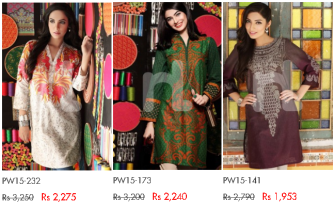 Nishat Linen Ladies Latest Pret and Nisha Collections Winter Dresses Designs with Price