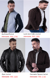 Men's Jackets Sweaters Hoodies Collections By Outfitter For Winter Price Images In Pakistan
