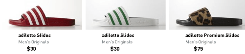 Sandals Slippers And Slides By Adidas For Men Latest Collections Online Price