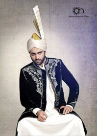 Ahsan Hussain Grooms Dresses Designs Latest Arrivals with Prices