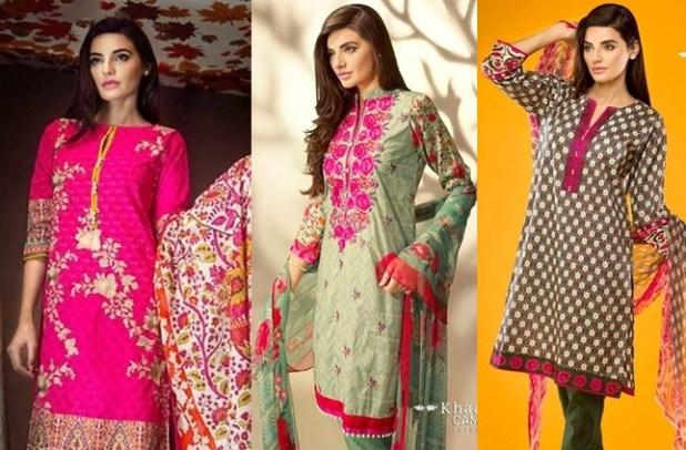 Khaadi Ladies Winter Dresses